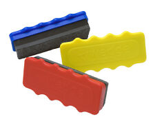 Pack of 3 x Rubber / Eraser / Duster for Dry Wipe White / Chalk / Black Board