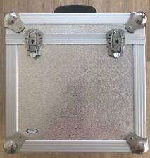 Bush Acoustics SICURO DJ LP disco di archiviazione VOLO Custodia Schiuma rivestita in Alluminio Ex