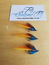 3x Usual Shrimp Size 10 Double Hook Salmon Fishing Flies