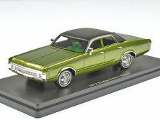 Neo Dodge Polara 1972 Green Met. 1:43 46725