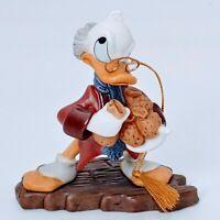 "WDCC: Mickey's Christmas Carol; Scrooge McDuck ""Bah-Humbug!"" Ornament, COA. MIB."