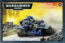 Space Marine Trike Attack BIKE Games Workshop Warhammer 40.000 GW 48-20 Biker