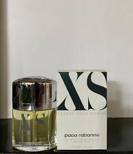 Paco Rabanne XS Pour Homme Eau De Toilette 50ml Spray Neu & Selten