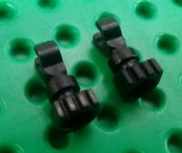*NEW* Lego Black Skeleton Legs Parts Android Head Minifigs Figs - 2 pieces
