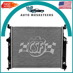 Radiator-1 Row Plastic Tank Aluminum Core CSF 3457 fits Mercedes-Benz