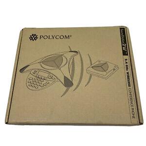 *NEW-Open Box* Polycom SoundStation 2W Wireless Conference Phone 2200-07880-160