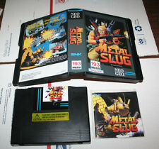 NEO GEO AES CONSOLE METAL SLUG SNK ENGLISH US SELLER 100% COMPLETE & WORKING