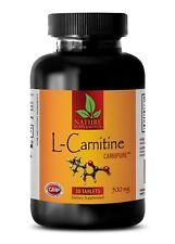 Energy Booster - L-CARNITINE 510mg - Extreme Fat Burner - 1 Bottle