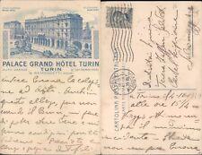 TORINO,PALACE GRAND HOTEL TURIN,PRIMI 900 -PIEMONTE(TO)-FP/VG-46370