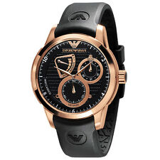 ** nuevo ** emporio Armani Reloj SOLLEVATORE ® AR4619, Oro Rosa, esqueleto de hombre