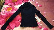 Lululemon Size 4 Bhakti Jacket NWT NEW Black Swan