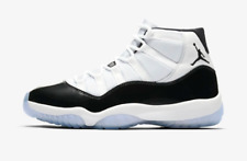 newest 6f317 a5103 2018 Nike Air Jordan Retro 11 XI Concord White Black 378037-100 GS MEN size