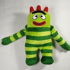 "Ty Brobee Yo Gaba Gaba Kids Toy Plush Stuffed Animal 7"" Long"
