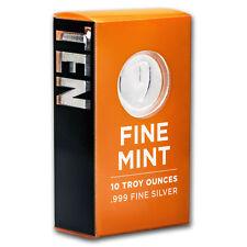 10 oz Silver Bar - 9Fine Mint - SKU# 156274