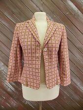 EXPRESS Blazer Jacket Pink & Tan Women's Size 2