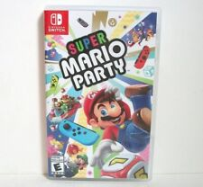 Super Mario Party Case Artwork Only NO GAME Nintendo Switch Empty Replacement