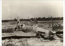10633224 A1 (84x59cm) Poster Messerschmitt Bf109E-4 of German Ace Franz von...