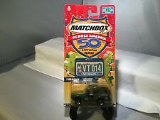 Matchbox Across America 50th Birthday Series VERMONT 2001 LAND ROVER DISCOVERY