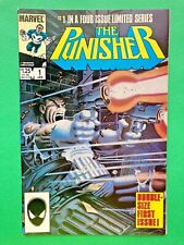 THE PUNISHER #1 1986 KEY 1ST PUNISHER IN SOLO TITLE-LIMITED SERIES