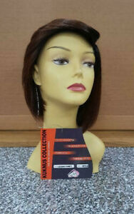 Kuknus Collection Synthetic Hair Mono P Damini Wig Invisible Lace Deep Part