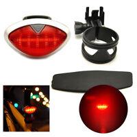 Bicycle Bike Tail Rear Light 5LED Flash Safety Warning Battery Lamp Tail Light H