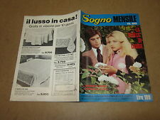 FOTOROMANZO SOGNO MENSILE ANNO 1971 N°85 ROBERTO MURA PATRIZIA GORI
