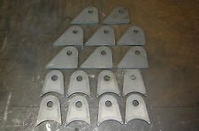 """4 Link Tabs 5/8"""" Hole - 3"""" Tube and Flat Offset  16 Total Tabs 3/16"""" Plate"""
