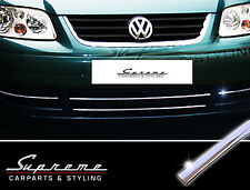 VW Touran 1T 03-06 & Caddy - 3M chrome trim for Radiator grille without lower