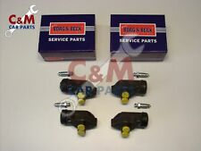 Zapatos de Freno Trasero Conjunto Para Ford Cortina Mk 1 Anglia 123E-Ferodo ESCORT Mk 1