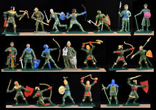Starlux Green Knights - Set of 20 in 20 Poses! - 60mm Painted - only 1 set