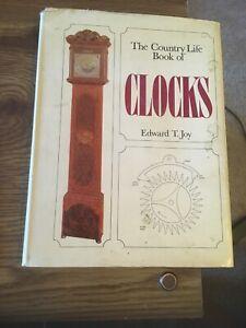 The Country Life Book of Clocks, Edward T Joy 1968 HC DJ
