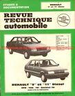 RENAULT 9 et 11 Diesel GTD TDE TD Société TD : Revue Technique Auto
