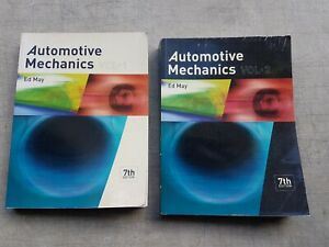 Automotive mechanics text books 7th edition volume 1 & 2 by Ed May