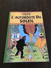 TINTIN L'AUTOROUTE DU SOLEIL (pastiche parodie hommage HERGE  )
