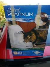 PetSafe Drinkwell Platinum or 1 Gallon Cat and Dog Water Fountain - Pet Drinking