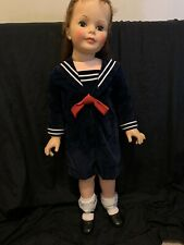 "Vintage Dress /sailor Suit For Ideal Patti Playpal Fits 35� Doll ""No Doll"""