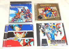 Mega Man Rockman X7 X8 Command Mission Theme Song Video Game Soundtrack LOT 4 CD