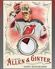 DIGITAL CARD 2017 Topps Skate Allen & Ginter Cory Schneider Jersey DIGITAL CARD