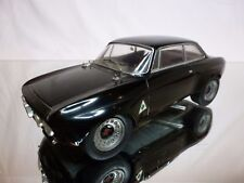 GUNZE SANGYO KIT (built) ALFA ROMEO 2000 GTAm - BLACK 1:24 METAL BOTTOM PLATE