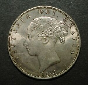 1883 HALF CROWN
