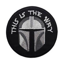 1 Écusson Thermocollant NEUF ( Patch ) - Star Wars The Mandalorian ( Ref 5 )