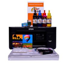 More details for sublimation printer a4 starter bundle package non oem epson xp-4100 /05 dye sub