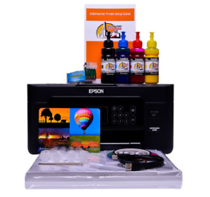 Sublimation printer A4 starter bundle package non oem Epson xp-3100 /05 Dye Sub