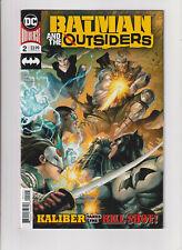 Batman and the Outsiders DC Comics #2 NM- 9.2 Katana Duke Thomas 2019