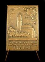 Médaille Sweden Suède Tjalve idrottsföreningen Church Eglise Sverige 60 mm medal