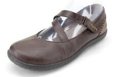 Orthaheel Women's Myla Brown Leather Mary Jane Casual Shoes Size US 7 EUR 38