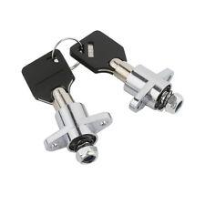 2x Hard Saddlebag Lock Key Set For Harley Touring Electra Street Glide 14-18 15