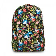 Alice in Wonderland Backpack Loungefly Backpack Full Size Backpack NEW RELEASE