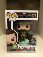 MYSTERIO W/OUT HELMET MCM 19 EXCLUSIVE FUNKO POP MARVEL SPIDER FAR FROM HOME 477