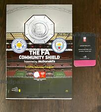More details for leicester city v manchester man city community shield 2021 programme & vip pass